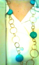 necklace - a gift from the boy's mom